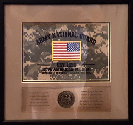Army National Guard Award