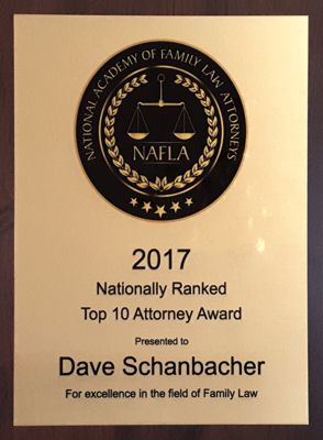 National Academy of Family Law Attorneys Award